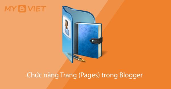 Chức năng Trang (Pages) trong Blogger