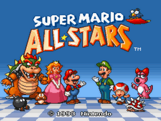 Super Mario All Stars Rom Espanol Super Nintendo Snes