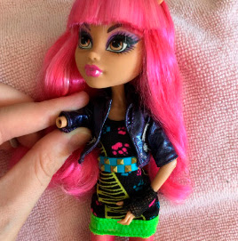 Monster High sem braço!!
