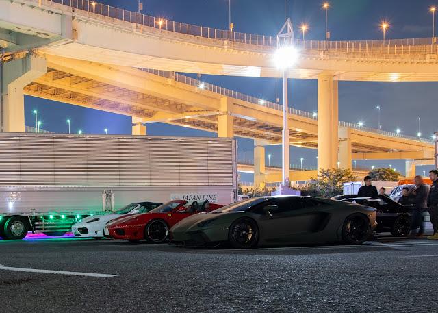 Ferrari wangan daikoku PA