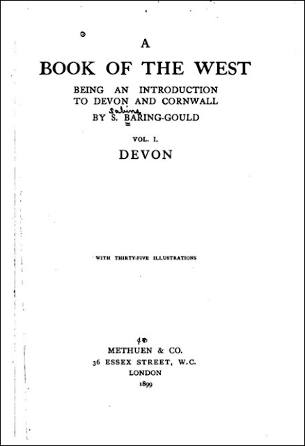 A Book of the West: Being an Introduction to Devon and Cornwall (Sabine Baring-Gould, 1899)
