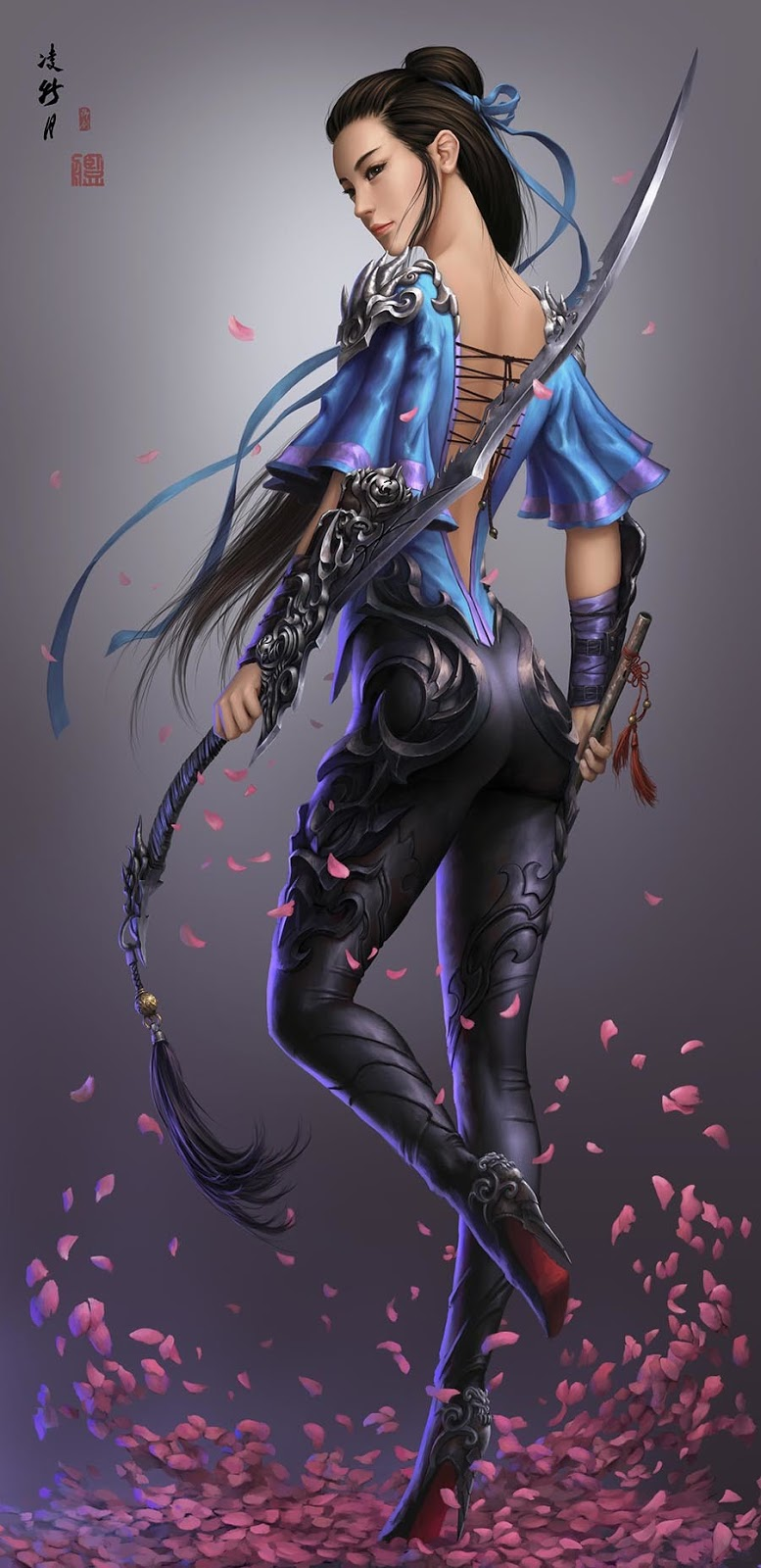 Digital Art By Xiaojian Liu(卡特 Carter adair)