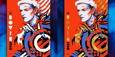 "David Bowie ""BOWIE 1980"" Screen Print Ken Taylor x ECHO"