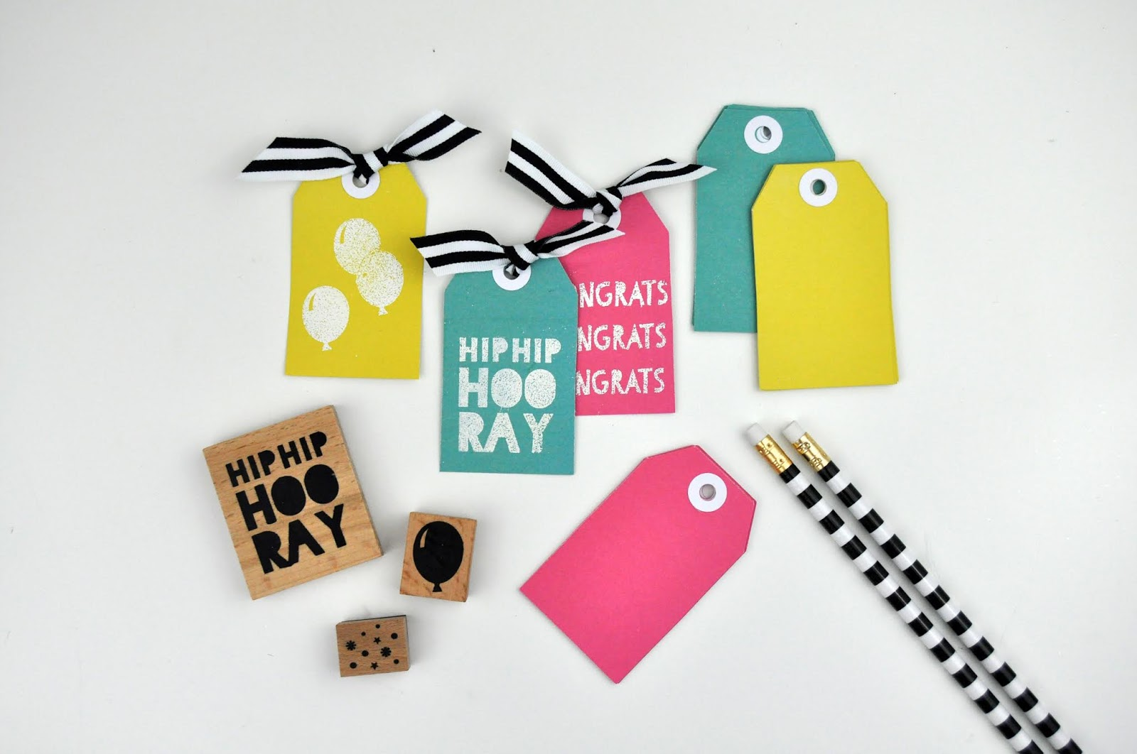 How to Stamp Birthday Tags with JoAnn Stores Park Lane Stamp and Tag Sets