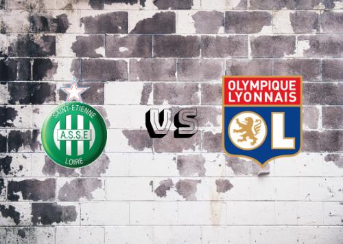 Saint-Étienne vs Olympique Lyon  Resumen