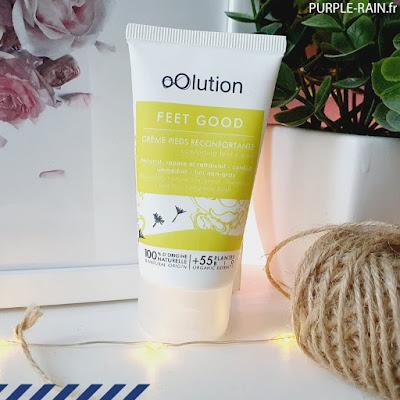 Crème Pieds réconfortante - oOlution : Belle au Naturel •• Blog PurpleRain