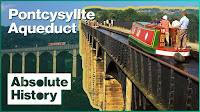 The Incredible Aqueduct That Carries A Canal   Britain's Best Canal Journeys   Absolute History