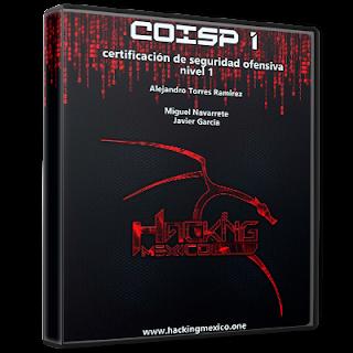"""HackingMéxico - Libro Certificación de Seguridad Ofensiva nivel 1 """"La biblia del hacking"""""""