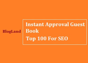 SEO, Search Engine Optimization, Guest Books, Guestbooks, Instant Approval Guestbooks List 2017