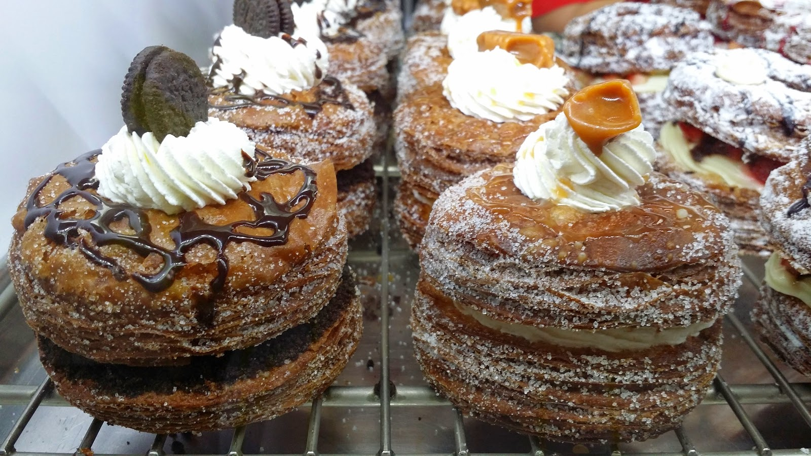 BEAUTIFULLY HANDCRAFTED DONUTS & CRONUTS / DOSSANTS @ FRIENDLY DONUTS - ORANGE