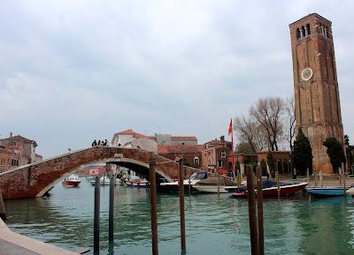 Murano. Fábricas de cristal de Murano. Qué ver en Murano. Puentes y canales de Murano