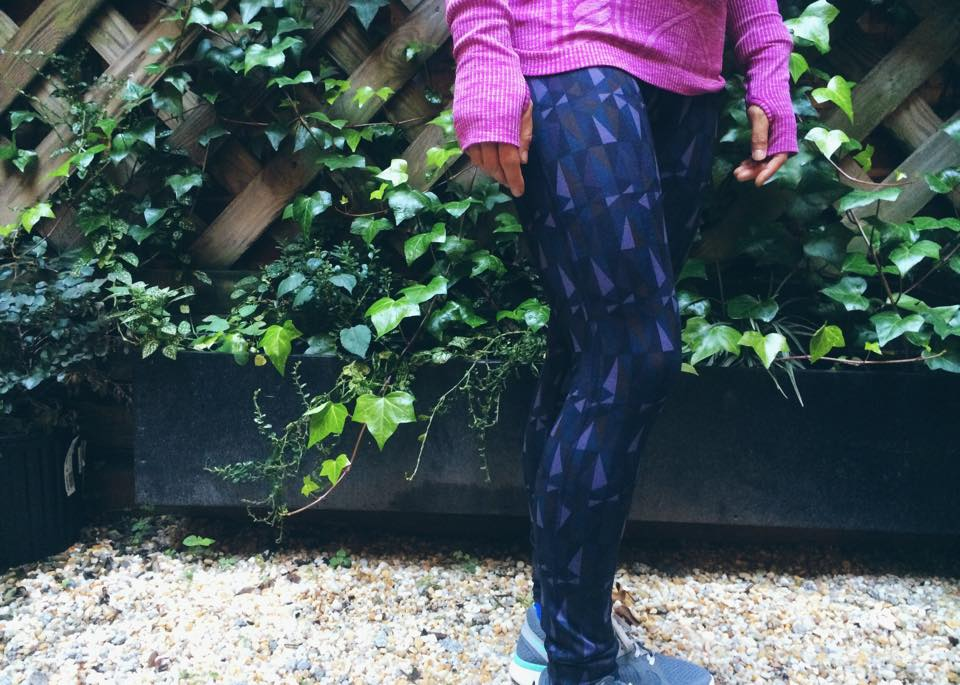 lululemon nightfall stained glass love speed tight