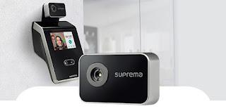 Control de accesos y presencia facial con cámara térmica