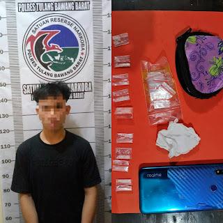 Satuan Narkoba Polres Tubaba Ciduk Satu Pelaku Penyalahgunaan Narkotika