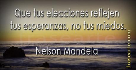 Nelson Mandela en frases