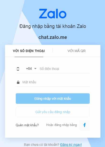 Zalo Web - Đăng Nhập Chat Zalo Online Không Dùng Phần Mềm b