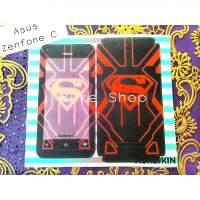 Skin Garskin Asus Zenfone C gambar logo Superman
