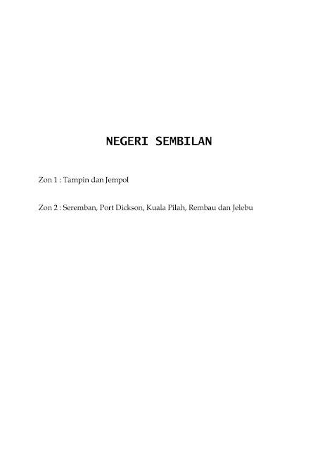 Jadual Waktu Imsak Dan Berbuka Puasa Negeri Sembilan 1442H