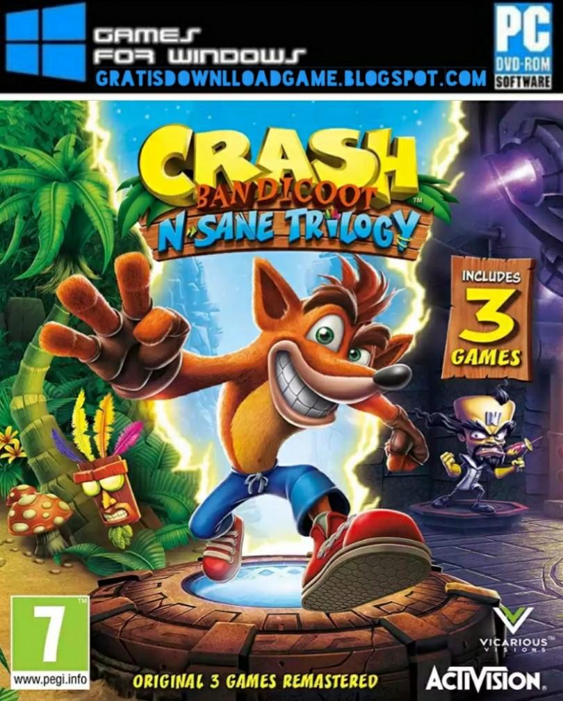 Game PC Crash Bandicoot N. Sane Trilogy Repack Free ...