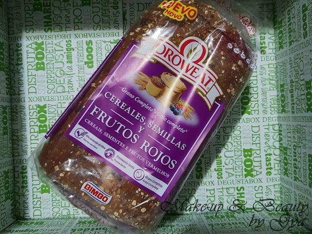 Pan con cereales,semillas y frutos rojos Oroweat Degustabox Abril ´18 - Especial Aniversario