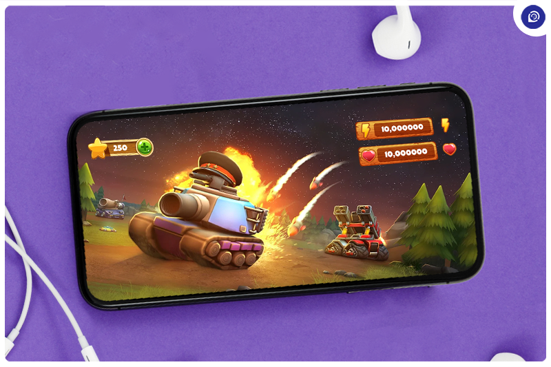 The Ultimate Tank Fight on Android.