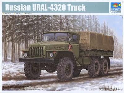 Ural 4320 Timber. TR01012-2