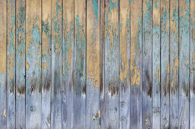 Old Weathered Vertical Wooden Planks Free Image