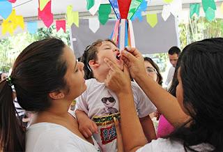 Municípios da PB correm risco de surto de poliomielite
