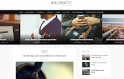 (Free)(Premium) Holomatic Blogger Template Themes