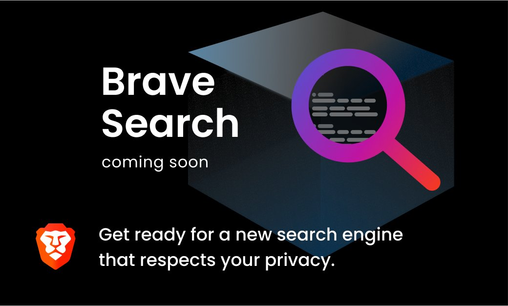 Brave Browser will launch it's own search engine 🔍