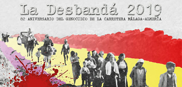 """La marcha de """"La desbandá 2019"""" entra en Almería a ritmo de """"Bella Ciao"""""""
