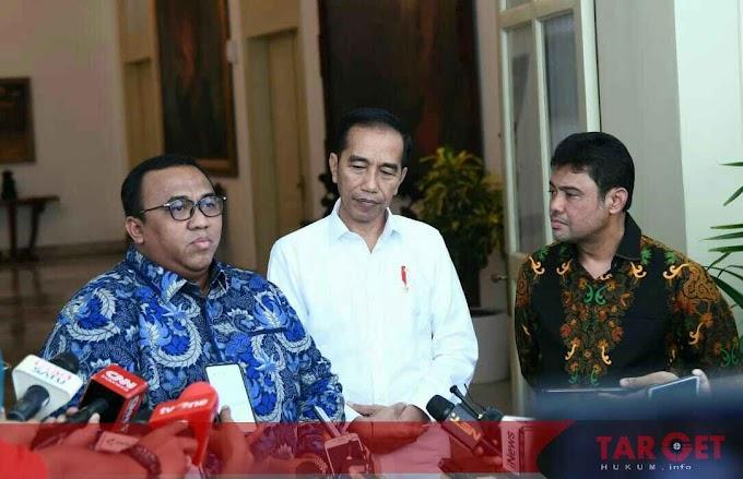 Presiden Jokowi Bertemu Dengan Dua Serikat Pekerja di Istana Bogor
