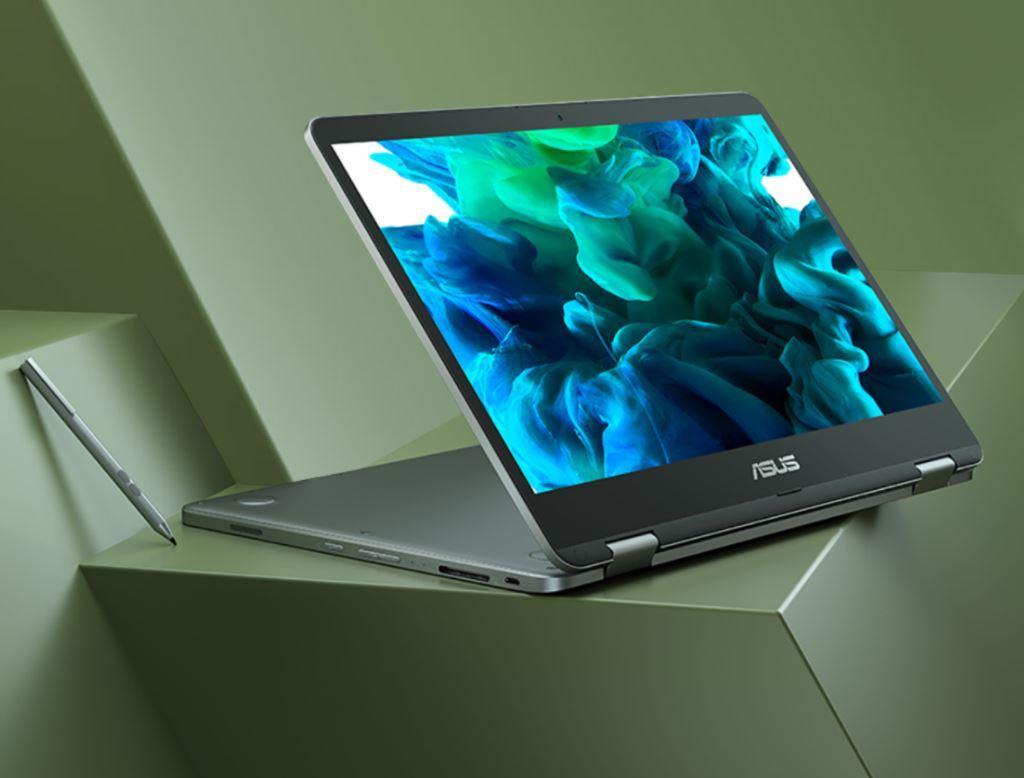 Asus VivoBook Flip 14 TP401MA BZ221TS, Laptop Hybrid Murah Bertenaga Celeron N4020