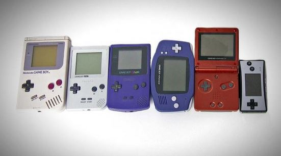 Game Boy Family (https://www.youtube.com/watch?v=w5MO6KHw2Ro )