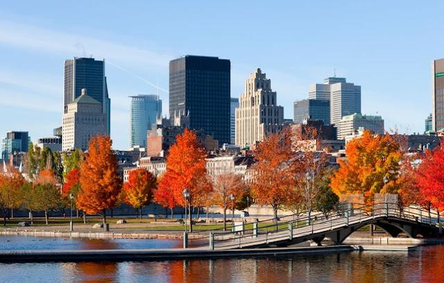 Pontos turísticos em Montreal