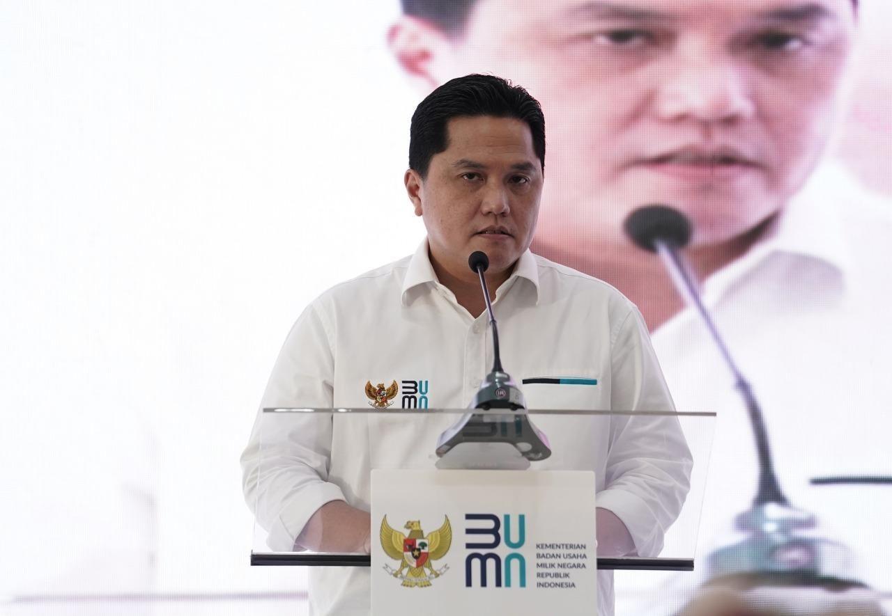 Erick Thohir Ajak Publik Sumbang Vitamin Bagi Nakes, PD: Ngajakin Rakyat Nyumbang, Eh Uangnya Dipakai Bayar Buzzer