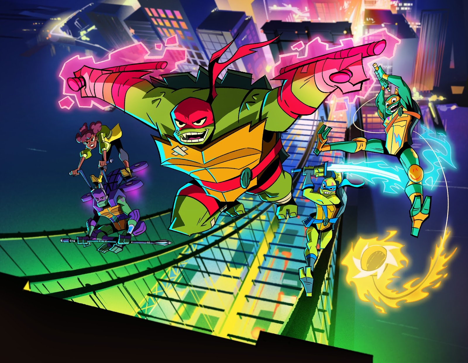Nickalive November 2018 On Nickelodeon Italy Rise Of The Tmnt