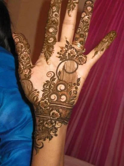 Sweet Mehandi Design