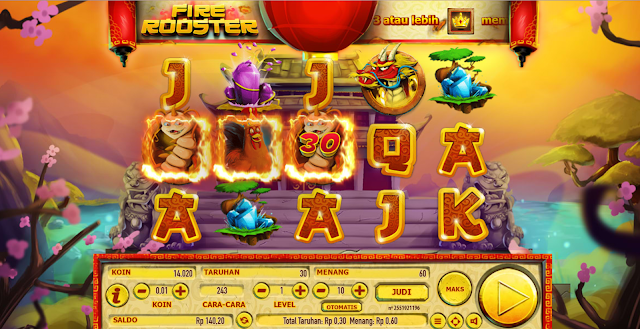 AGEN SLOT SG FIRE ROOSTER DI HABANERO