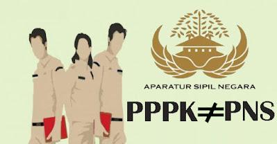 Perbedaan PNS dan PPPK (P3K)