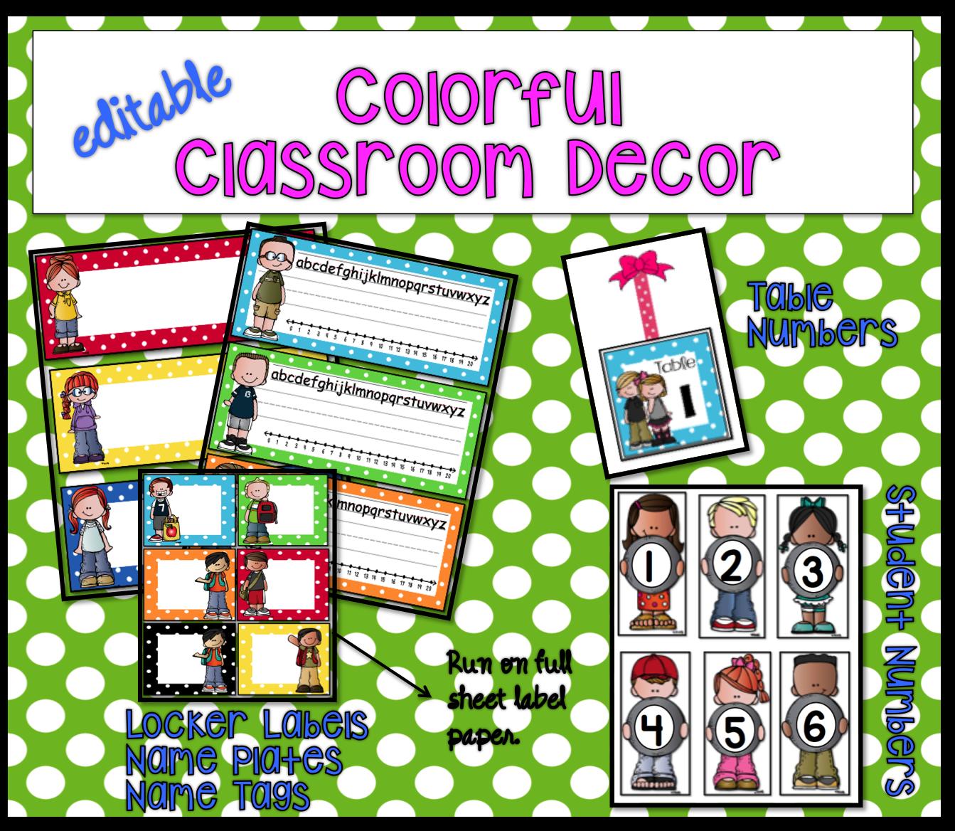 Hip Classroom Decor ~ St grade hip hooray classroom decor with a colorful