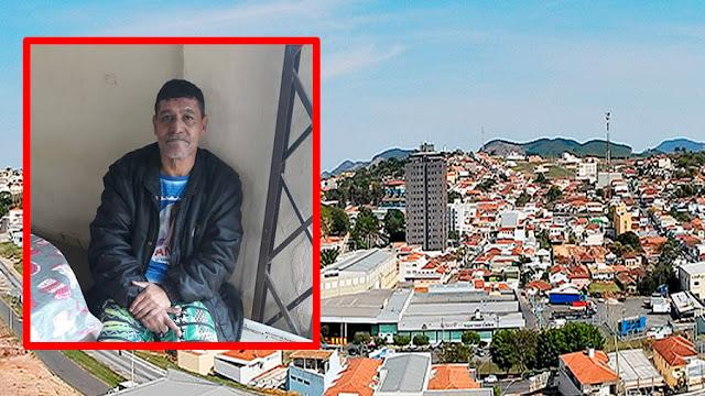 Homem encontrado em Jacutinga(MG) não sabe o próprio nome