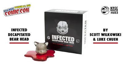 New York Comic Con 2016 Exclusive Infected Decapitated Bear Head by Scott Wilkowski x Luke Chueh