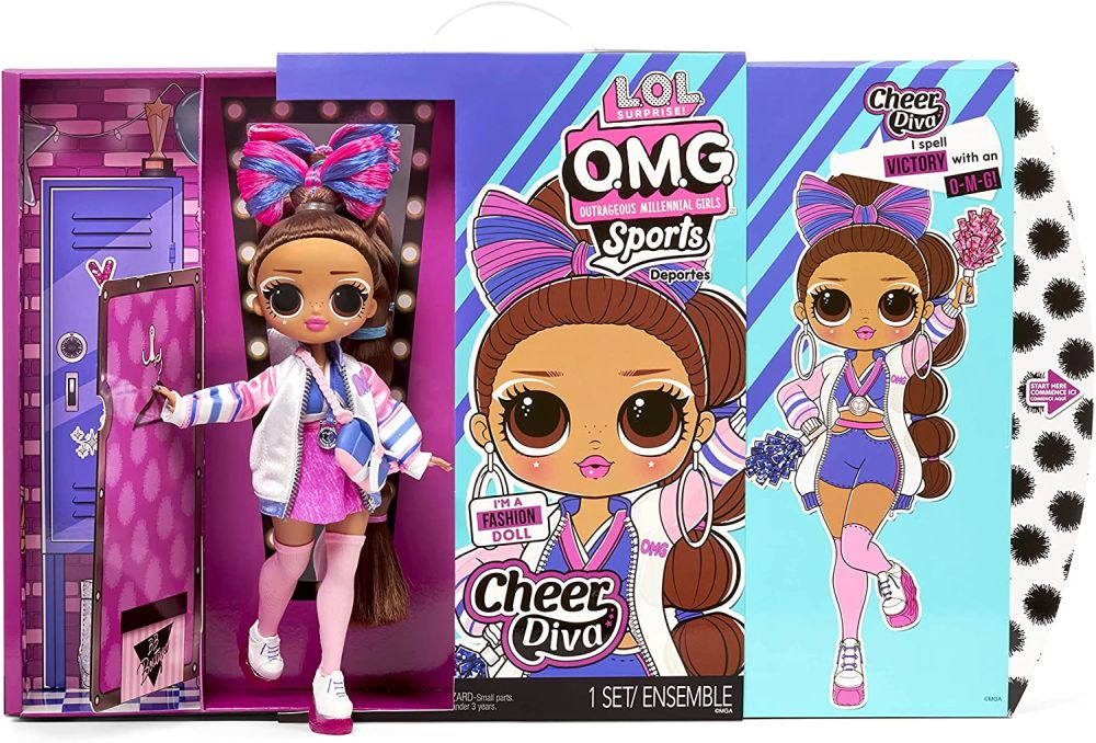 LOL Surprise OMG Sports Cheer Diva