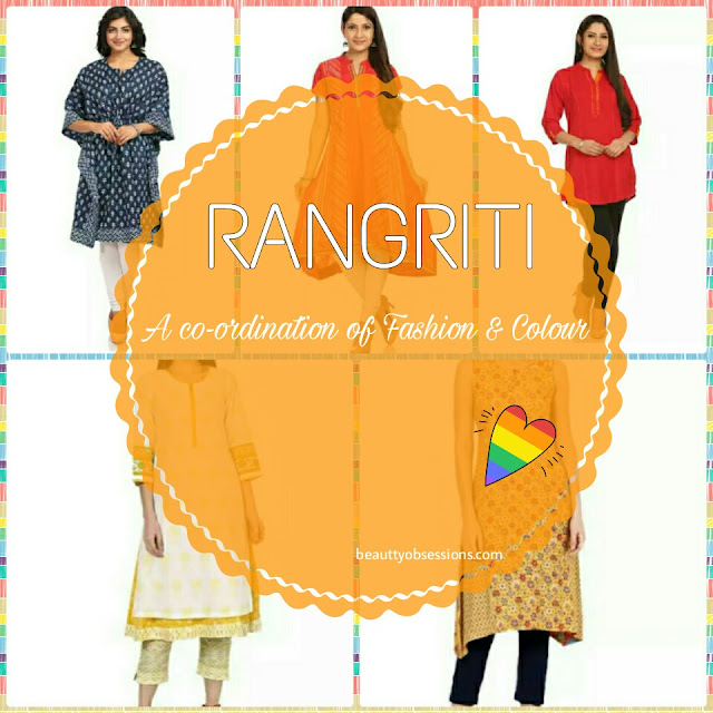Rangriti  Kurtas - A Co-ordination of Fashion & Colour