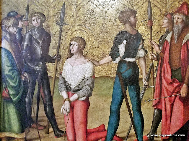 Pintura medieval no Museu de Artes