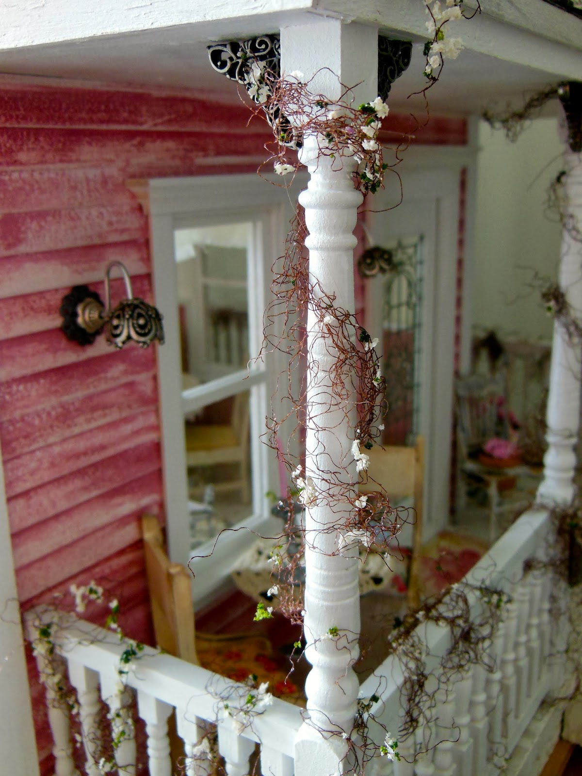 My mini hobby day 89 the shabby chic cottage is complete - What is shabby chic ...