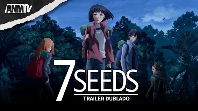Resenha anime 7 Seeds - indicação de anime de AVENTURA e SOBREVIVÊNCIA