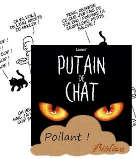 putain de chat lapuss monsieur pop corn BD humour avis critique chronique poilant poilu drôle