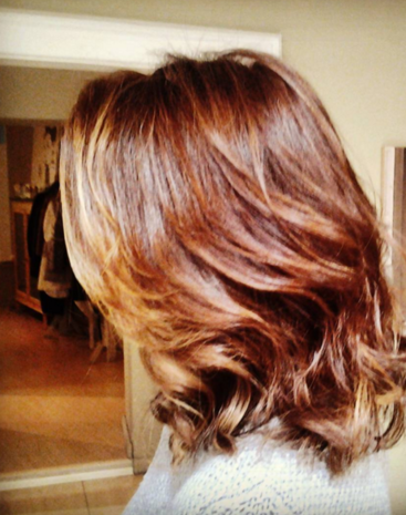 Capelli color whisky